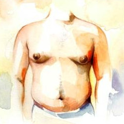 ginecomastia: seno maschile